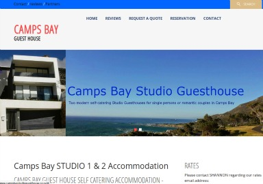 Campsbay guesthouse image