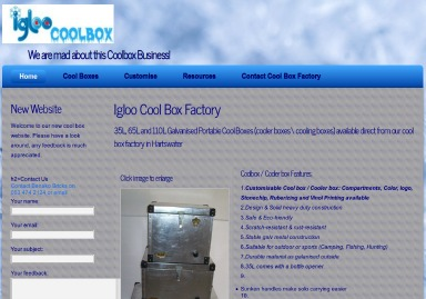 igloo coolbox image